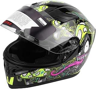 Casco De Seguridad Para Bicicleta, Casco De Doble Lente Antivaho, Casco De Motocicleta(