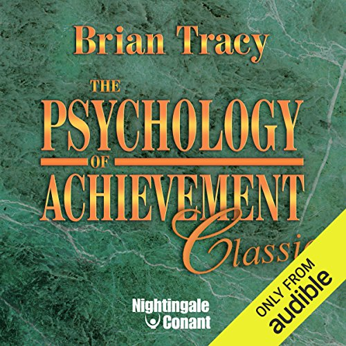 The Psychology of Achievement audiobook cover art
