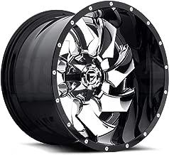 Fuel D240 Cleaver 22x14 8x165.1 -70mm Chrome/Black Wheel Rim