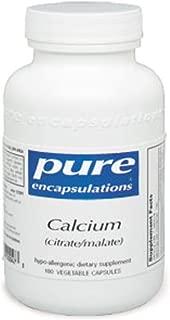 Pure Encapsulations - Calcium (citrate/malate) - 180ct
