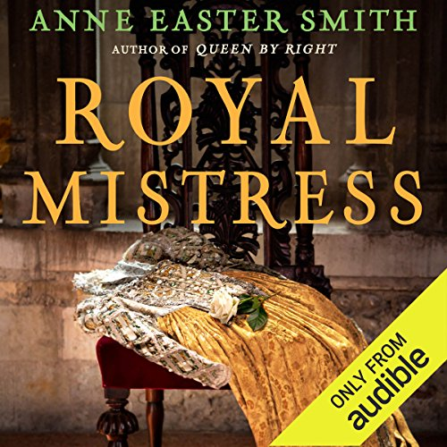 Royal Mistress audiobook cover art