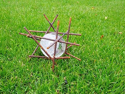 Garteninspiration Gartenstecker Dekoration Glas