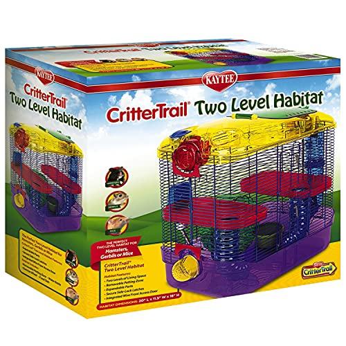 Superpet Critter Trail-2 Cage avec tunnel pour petit animal - 1 Unité