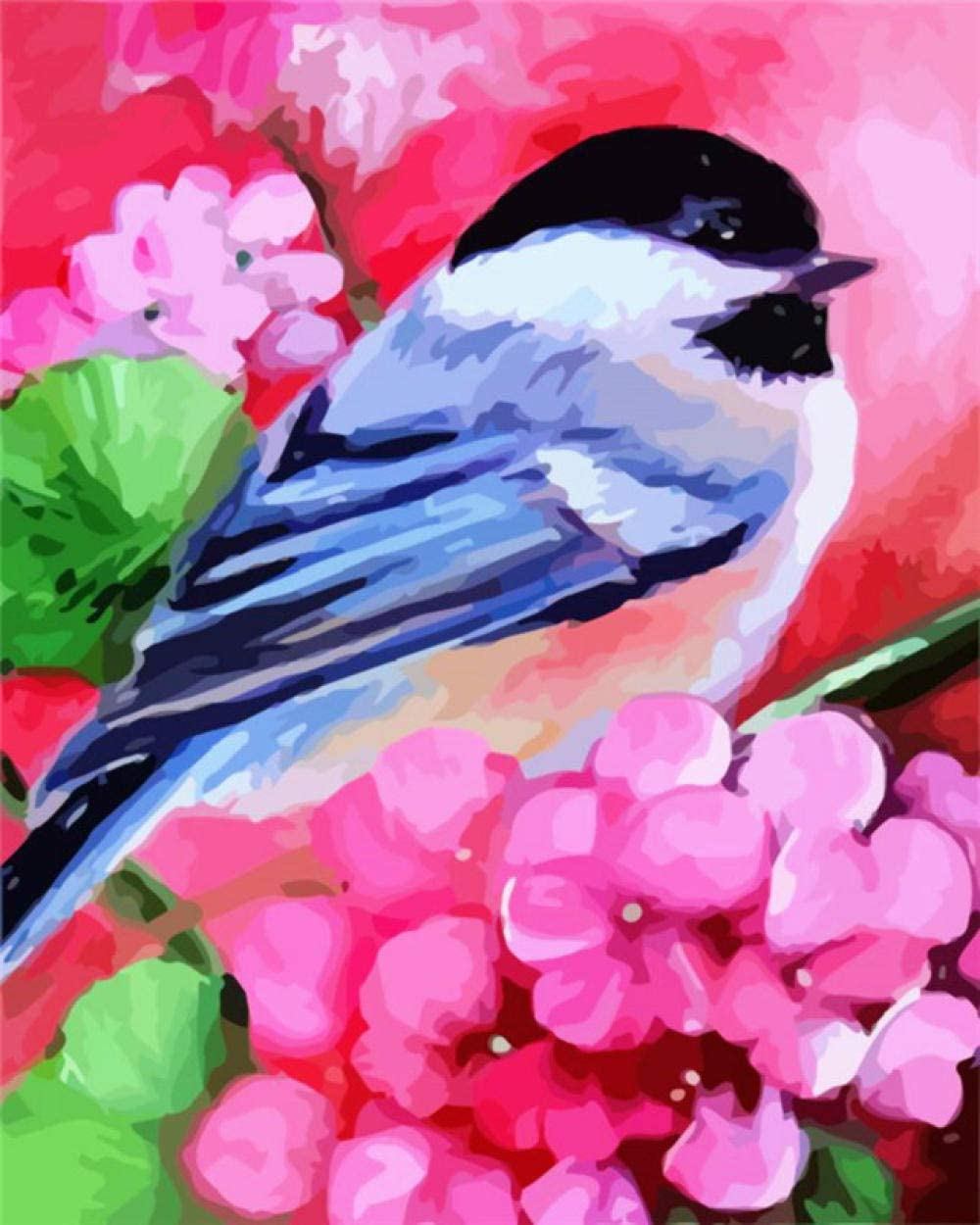 HRKDHBS Paint by Numbers Bird Flower with Industry Surprise price No. 1 DIY Frame Ac 40X50Cm