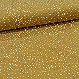 Schickliesel Jersey Stoff Meterware Basic Mini Dots