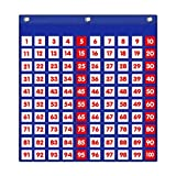 Eamay Hundreds Pocket Chart with 130 Number...