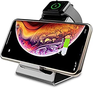 Your Electr Things Fast Wireless Charger-Qi Wireless Charging Pad (Black)-Standing Electric Charging-Fast-Smartphone Compa...