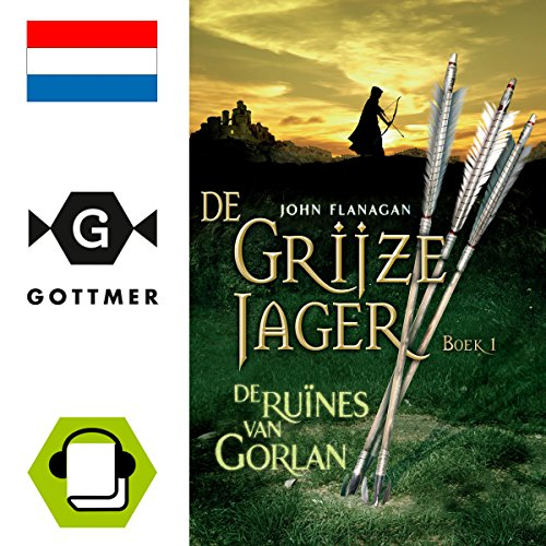 De ruines van Gorlan audiobook cover art