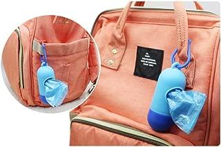 Balai おむつポット 紙おむつ処理ポット インテリアおむつペール 強力防臭抗菌 ポイテック においクルルンポイ 共用スペアカセット 99%抗菌フィルムポータブル スマート ゴミ袋 ケース付き アウトドア 防臭袋 20枚