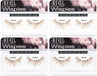 Ardell False Eyelashes Wispies Brown (4 Pack)