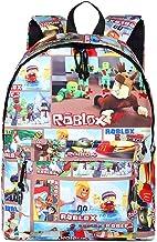 NINIUBAL Unisex Roblox Mochila para Ordenador Port/átil School Rucksack Mochila de Colegio Viaje Mochila de Lona Impresi/ón Mochila