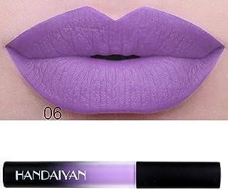 12 Colores Profesional Pintalabios Mate Labial de Maquillaje Larga Duracion para Niñas por ESAILQ I