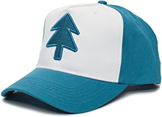 Posse Comitatus Dipper Aqua Blue Pine Hat Embroidered Adult Curved Baseball Cap
