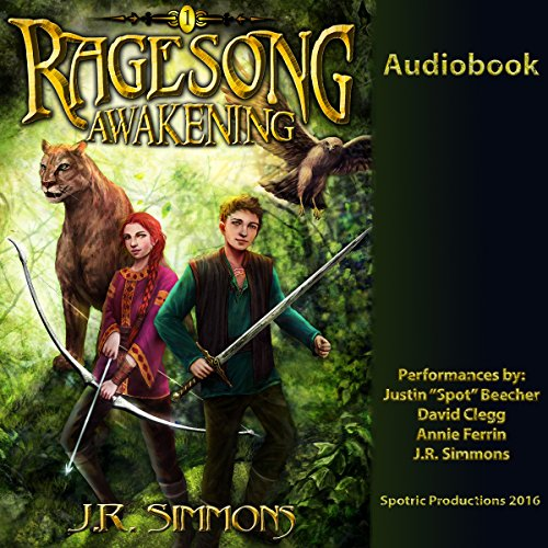 Awakening     Ragesong, Volume 1              By:                                                                                                                                 J.R. Simmons                               Narrated by:                                                                                                                                 Justin