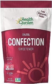 Health Garden Birch Xylitol Confection Sweetener - Non GMO - Kosher - Made in the U.S.A. - Keto Friendly (14 oz)