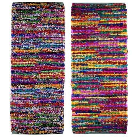 Signes Teppich, Baumwolle, Farben (1Einheit) 70x 200cm