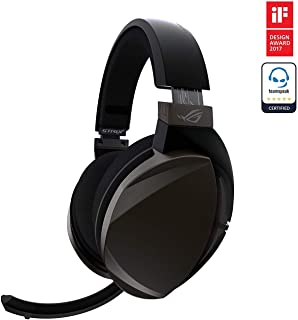 Asus ROG Strix Fusion Wireless Gaming Headset for PC, PlayStation 4 | 90YH00Z4-B3UA00