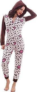 The PyjamaFactory Delizioso pigiama intero in cotone 100/% motivo stelle
