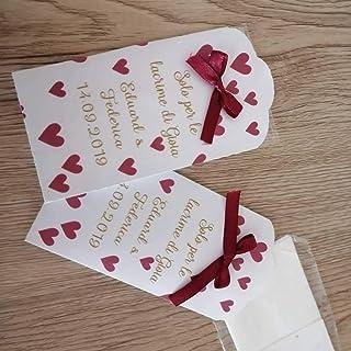 30 pz matrimonio fazzoletti lacrime di gioia