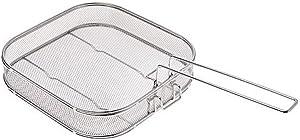 Curtis Stone Stainless Steel Easy Lift Basket (Renewed)
