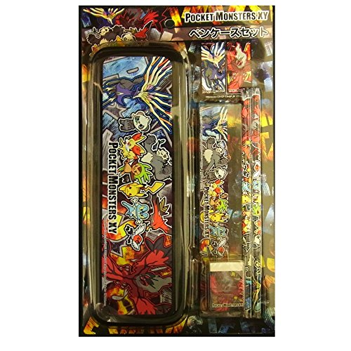Pokemon Best Wishes Pocket Monsters - Pencil/Pen Case Box set