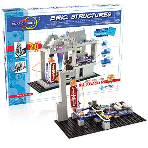 Product Image of the Snap Circuits BRIC: Structures | Brick & Electronics Exploration Kit | Over 20...