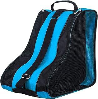 DAZISEN Bolsa para Patines - Mochila Protecciones Patines en Linea Patines de Hielo Skate Bag Unisex Adulto Niño Niña