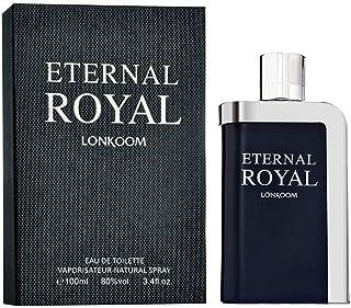LONKOOM Men's Perfume ETERNAL ROYAL Oriental-Aromatic Scent Fragrance Eau De Toilette Perfect for Gift 100ml