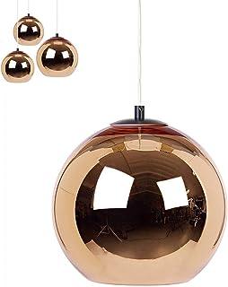Nowoczesna chromowana szklana kula wisząca regulowany kabel E27 lampa wisząca oświetlenie wewnętrzne dekoracja szklana kul...