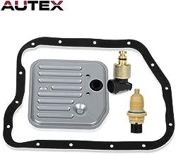 AUTEX 1pc Governor Pressure Sensor + 1pc Single Gasket Filter Kit + 1pc Toss 24mm Output Speed sensor compatible with Dodge Dakota & Dodge Ram 1500 & Dodge Durango & Jeep Grand Cherokee 1996-1999
