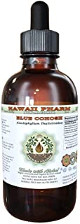Blue Cohosh Alcohol-Free Liquid Extract, Blue Cohosh (Caulophyllum Thalictroides) Dried Root Glycerite Hawaii Pharm Natura...