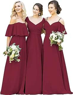 Best light burgundy dress Reviews