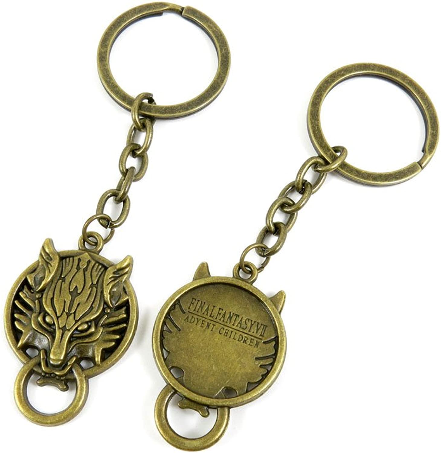 100 PCS Keyrings Keychains Key Ring Chains Tags Jewelry Findings Clasps Buckles Supplies T5QB7 Dragon Door Handle