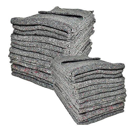 Lot de 10couvertures de protection de meuble pour déménagement 200 x 150cm