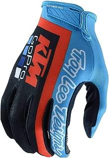 Troy Lee Designs Mens | Offroad | Motocross | Team KTM Air Glove (Medium, Navy/Cyan)
