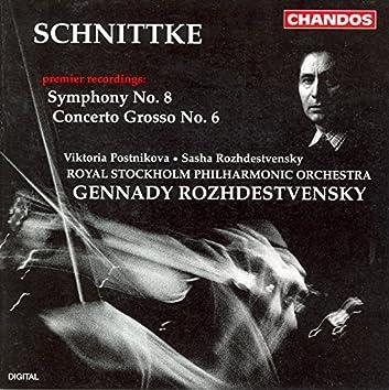 Schnittke: Symphony No. 8 / Concerto Grosso No. 6
