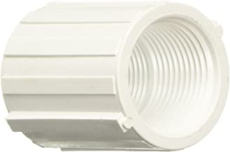 Genova Products 30128 PVC 40 Threaded Couplings, 1