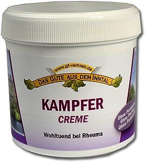 Kampfer Pflege-Balsam 200 ml - Creme Balsam gegen Rheuma Inkl. 4betterdays Lineal aus Steinpapier - Hergestellt in Deutschland