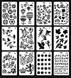 Mengcube Plastic Stencils for Painting