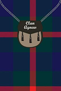 Clan Agnew Tartan Journal/Notebook