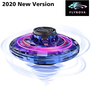 FlyNova Flying Spinner, Upgraded The Most Tricked-Out Hand Drones for Kids Adults, 360° Rotating...