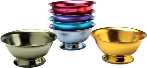 2021 Set lowest online of 6 Anodized Aluminum Bowls online