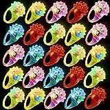 36 Piezas Anillos con Luces LED para Niños, Anillo Luminosos, Iluminar Anillos de Juguete  Niños Cumpleaños Relleno Piñata Premios Juego Halloween Navidad Bolsas Fiesta Sorpresas Regalo Infantiles.