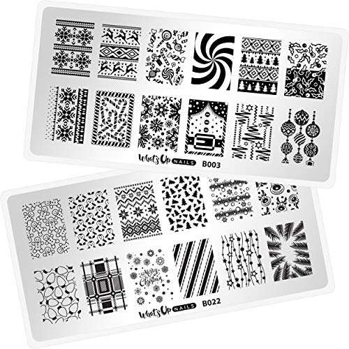 Top 17 snowflake nail stamping plate for 2021