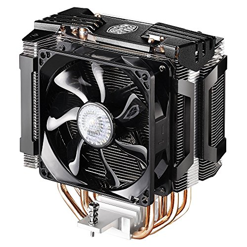 Cooler Master Hyper D92 - CPU Air Cooler with Dual 92mm Offset Push-Pull Fans and Accelerated Cooling System (Renewed)