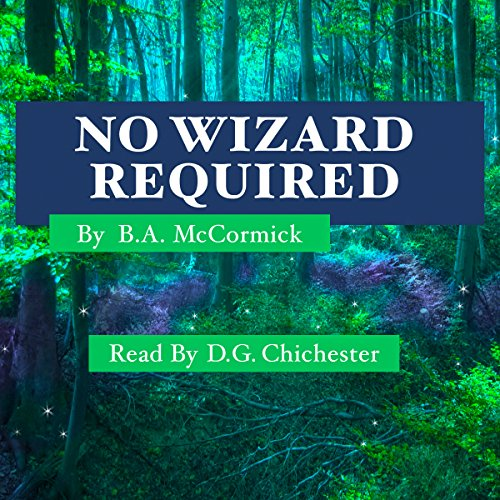 No Wizard Required audiobook cover art