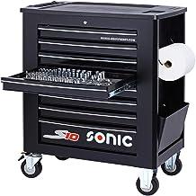Sonic Equipment S10 - Carro de taller (391 piezas), color negro