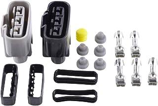 Regulator Connector Kit for Honda CBR 600 VF 750 VFR 700 800 VTR 250 1986-2003 V45 OEM Repl # 31600-KV0-008//31600-KV0-018//31600-MBG-305//31600-ML7-008//31600-MN4-018//31600-MZ5-003