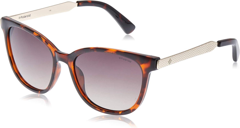 Polaroid 5015 S LLY Havana Square Gold Sunglasses Polaris Charlotte Mall Selling