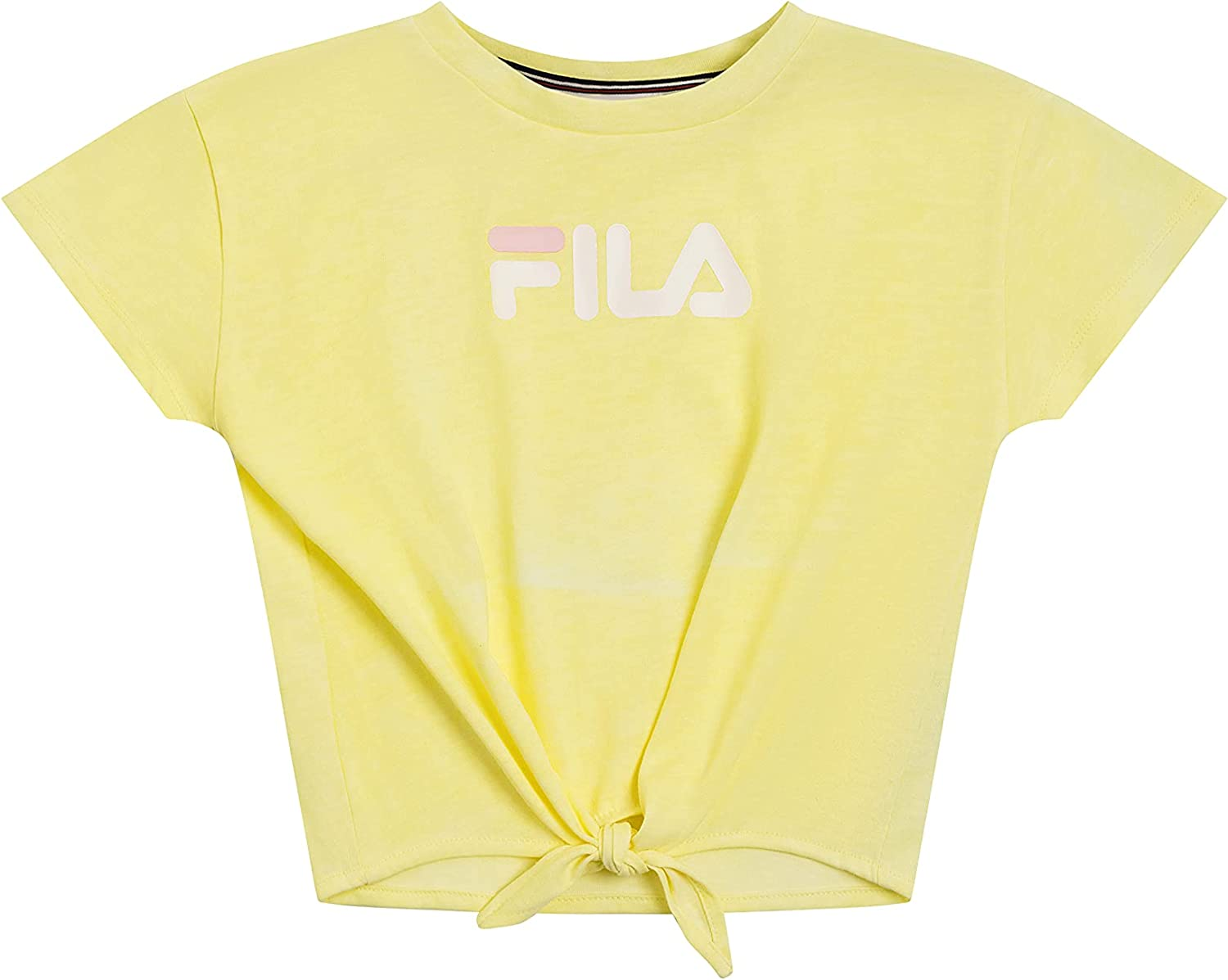 Fila Heritage Girls Short Sleeve T-Shirt Max 60% OFF Shirt Logo Limited Special Price Kids Clothes